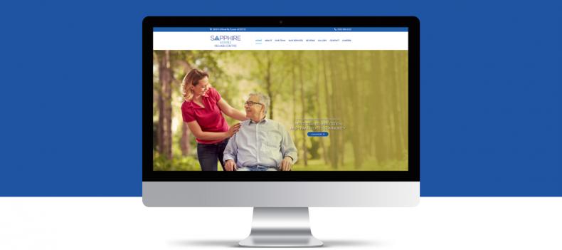Sapphire Estates Rehab Centre Website